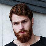 man with beard , beard