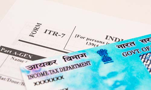pan card ,income tax department