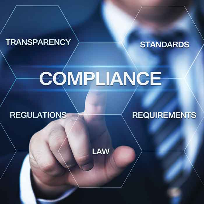 compliance,law, Transparency ,standards , regulations, requirement