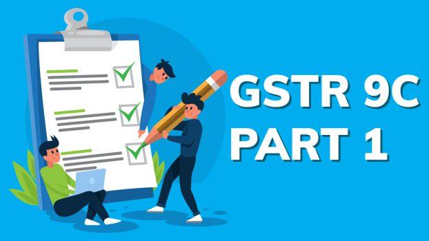 GSTR-9C , gst , check list ,cartoon