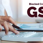 block credit under gst